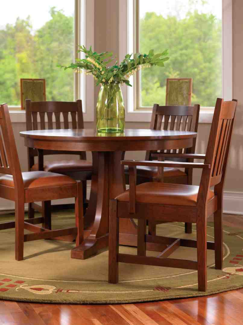 Stickley Dining Room Table And Chairs
