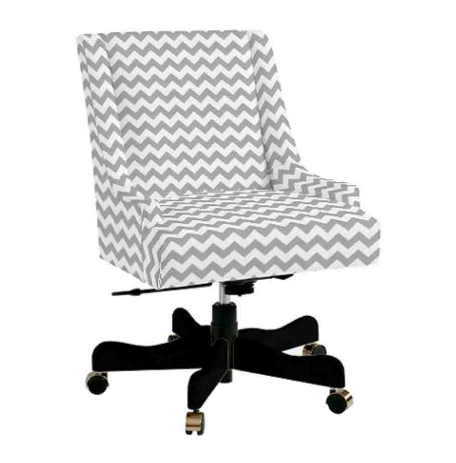 Upholstered Desk Chairs Swivel  Home Furniture Design