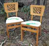 Vintage Stakmore Folding Chairs - Home Furniture Design