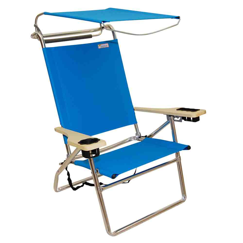 Reclining Beach Chair with Canopy  Home Furniture Design