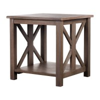 Farmhouse End Table - Home Furniture Design