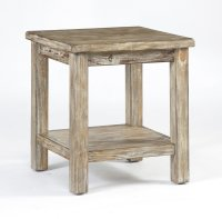 Rustic End Table - Home Furniture Design