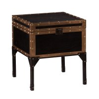 Trunk End Table - Home Furniture Design