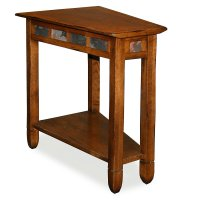 Wedge End Table
