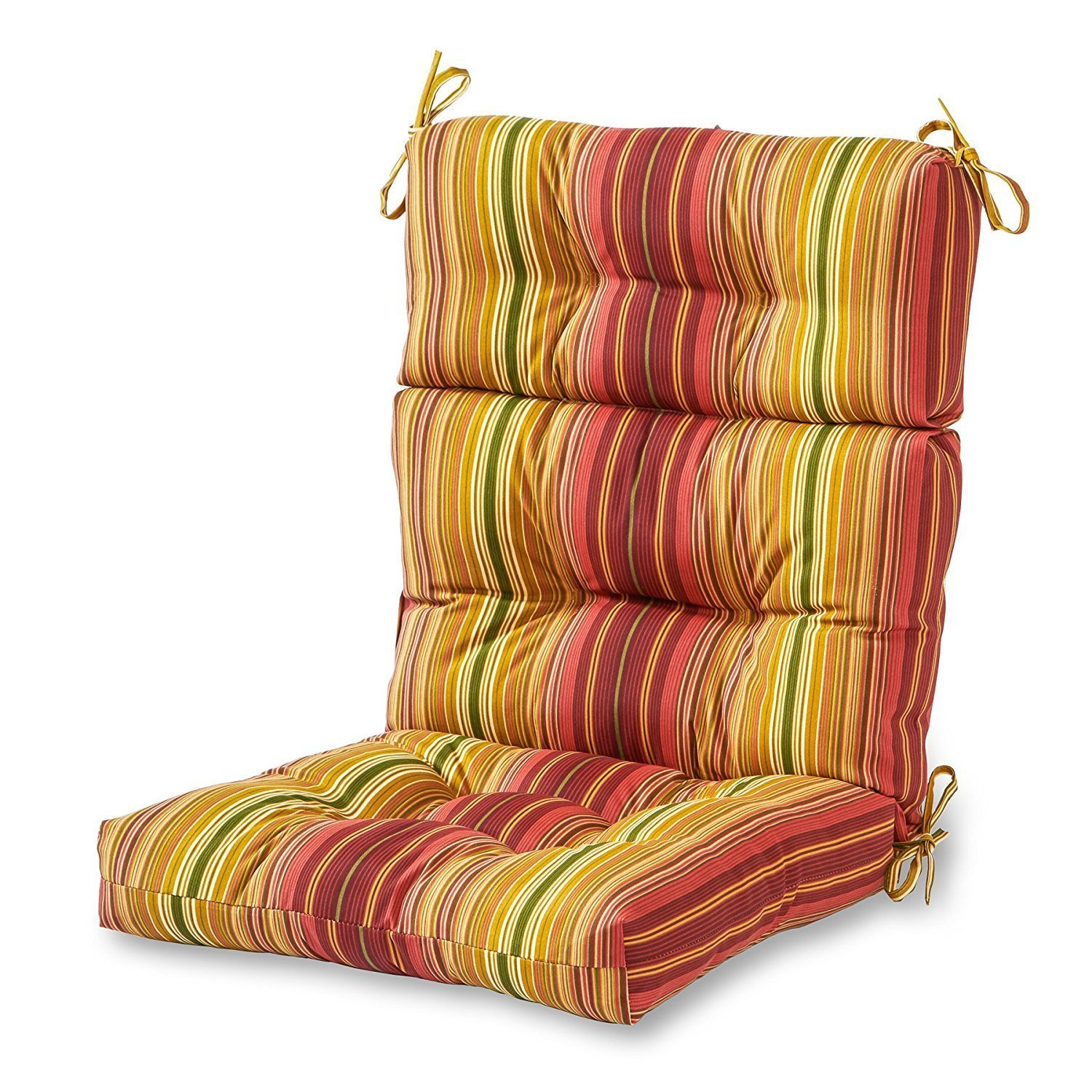 chair cushions with tie backs canyon swing queenstown in new zealand garden home furniture design