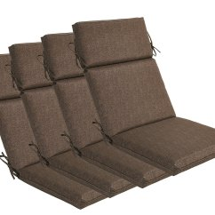 High Backed Chair Cushions Folding Lounge Chairs Outdoor Back Patio Home Furniture Design