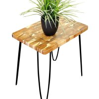 Real Wood End Tables - Home Furniture Design