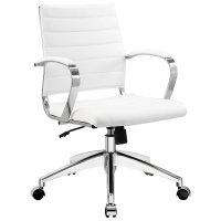 White Executive Chair - Home Furniture Design