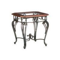 Wrought Iron End Tables With Glass Tops - Home Furniture ...