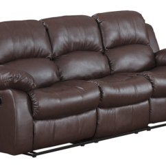 Brown Color Leather Sofa Set With Table Couch Home Furniture Design