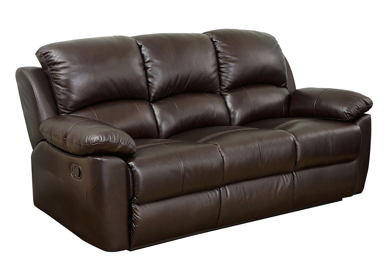 abbyson leather sofa which is posher couch or westwood top grain home furniture