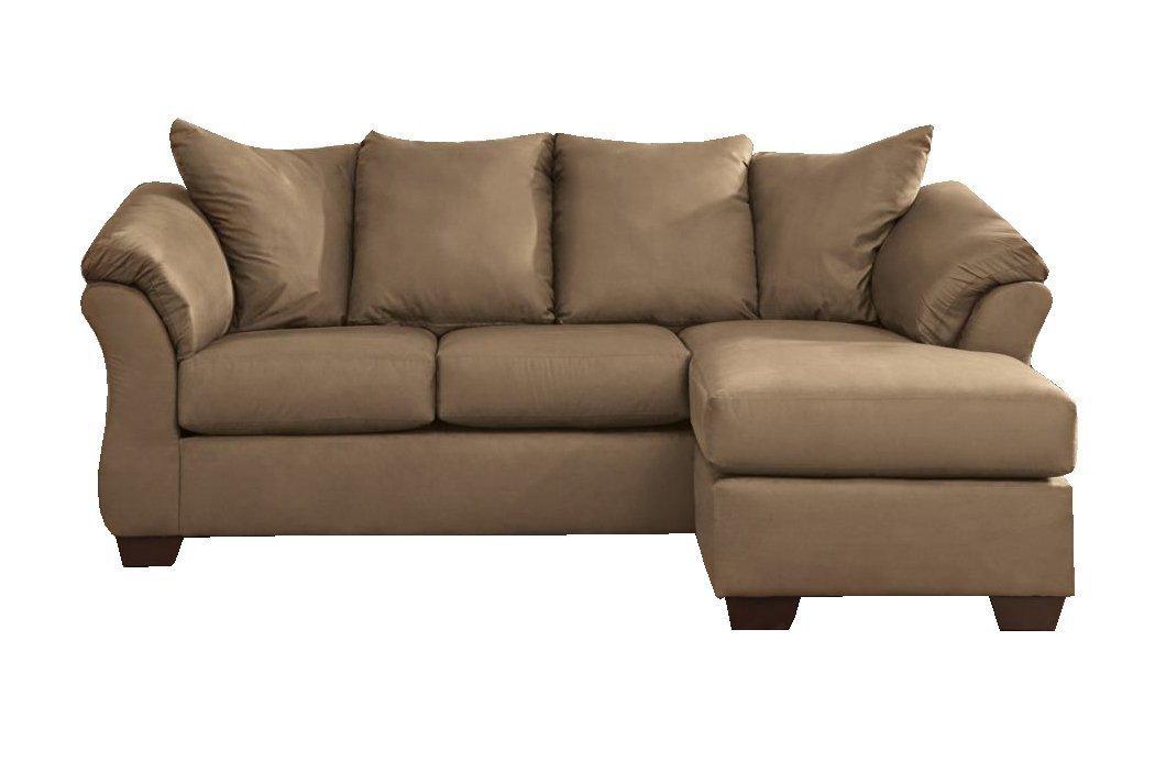 darcy sofa chaise ashley furniture fur pillows signature design - home ...