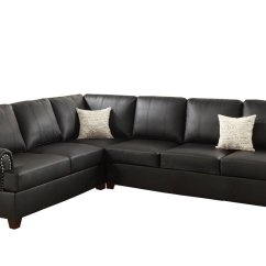 Bobkona Sectional Sofa Embly Instructions Clack Bed Fantastic Furniture Poundex F7769 Cady Bonded Leather Home