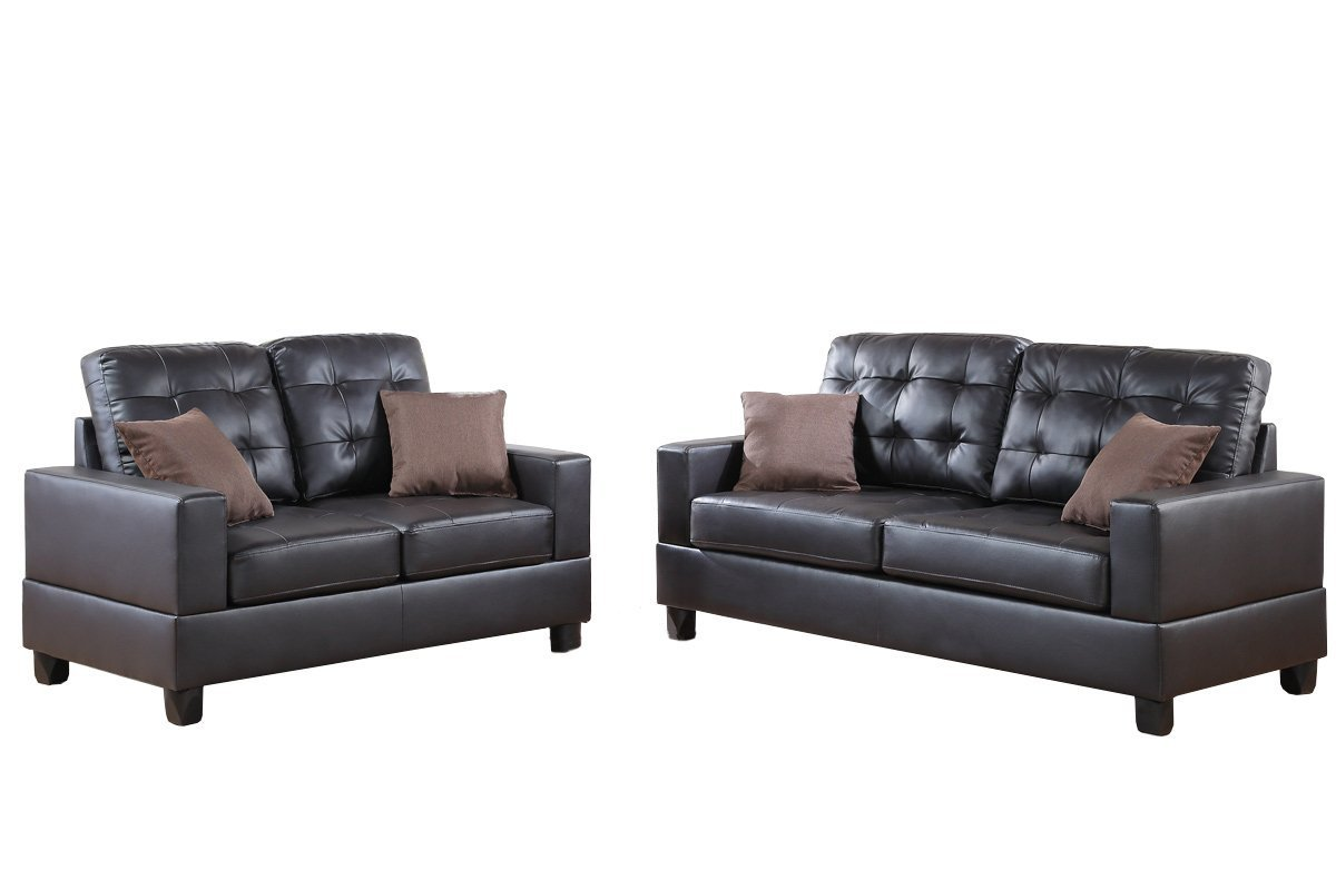 bobkona sectional sofa embly instructions torino power leather reclining poundex f7857 aria faux 2 piece