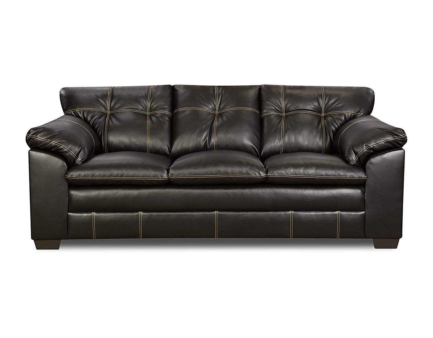 simmons blackjack cocoa reclining sofa and loveseat rv jack knife cover upholstery 6769 03 premier chocolate bonded