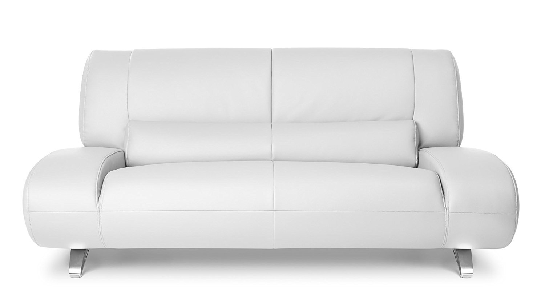 white sofa fabric sectional sofas toronto stores aspen leather loveseat home furniture design