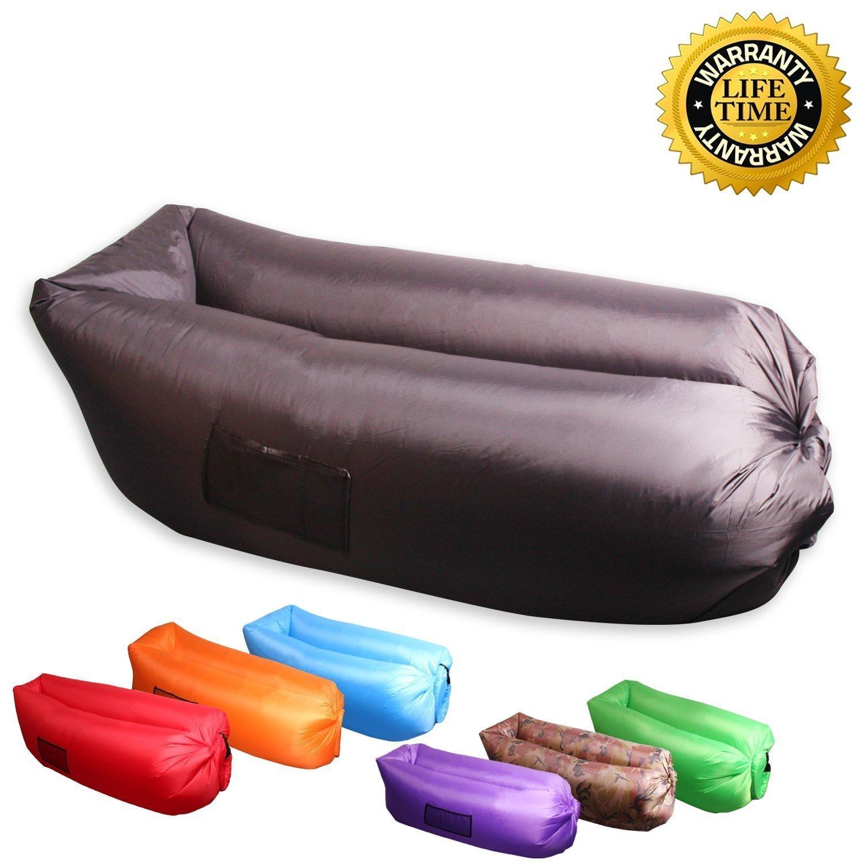 air bag chair wooden office bean home furniture design