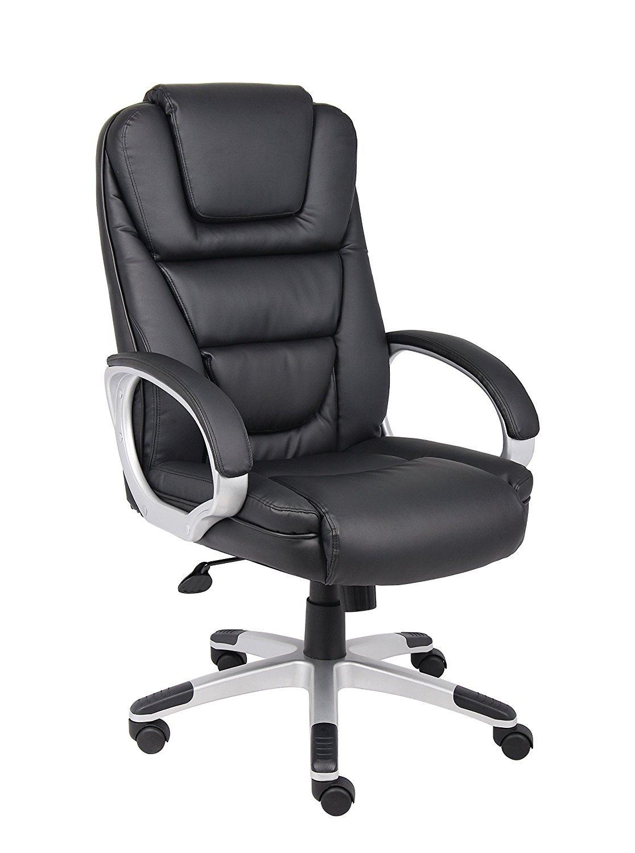 boss modern ergonomic office chair best ikea black leatherplus executive home furniture design