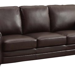 Baxton Studio Dobson Leather Modern Sectional Sofa Don Y Cia Couch Home Furniture Design