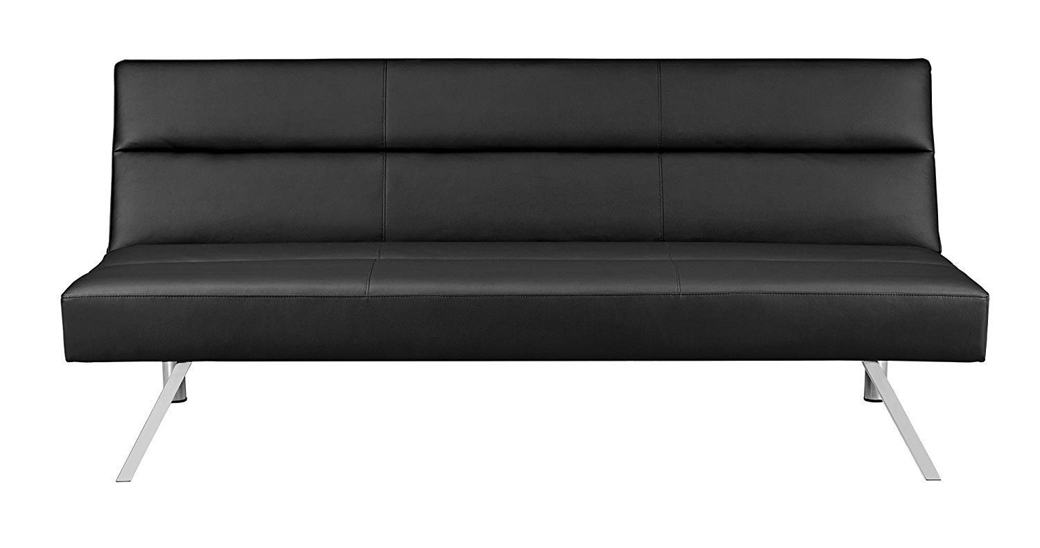 baxton studio dobson leather modern sectional sofa 2 piece covers futon couch home furniture design