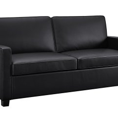 Leather Sofa Bed Pull Out Flexsteel Power Reviews Couch Home Furniture Design