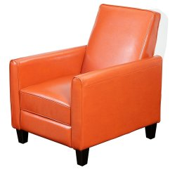 Burnt Orange Rocking Chair Cushions Toddler Recliner Living Room Home Furniture Design