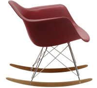 Eames Style Molded Modern Plastic Armchair Rocker - Home ...