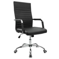 Furmax Ribbed Office Chair - Home Furniture Design
