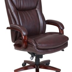 La Z Boy Martin Big And Tall Executive Office Chair Black Lots Recliner Covers Edmonton Leather Home Furniture Design