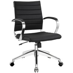 Ergonomic Chair Levers Glass Pub Table And Chairs Modway Jive Ribbed Mid Back Executive Office Home