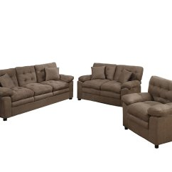 3pc Recliner Sofa Set Havertys Leather Power Reclining Poundex Bobkona Colona Mircosuede 3 Piece And