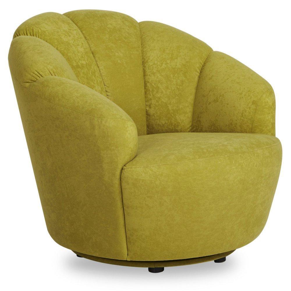 Gold Sparrow Newton Swivel Barrel Chair Home Furniture
