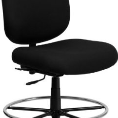 Hercules Big And Tall Drafting Chair Minnie Mouse Table Chairs Australia Flash Furniture Series & 400 Lb. Rated Black Fabric - Home ...