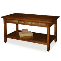 Rectangular Wood Coffee Table - Home Furniture Design