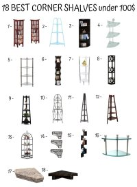 Different Types of Shelves - Home Furniture Design