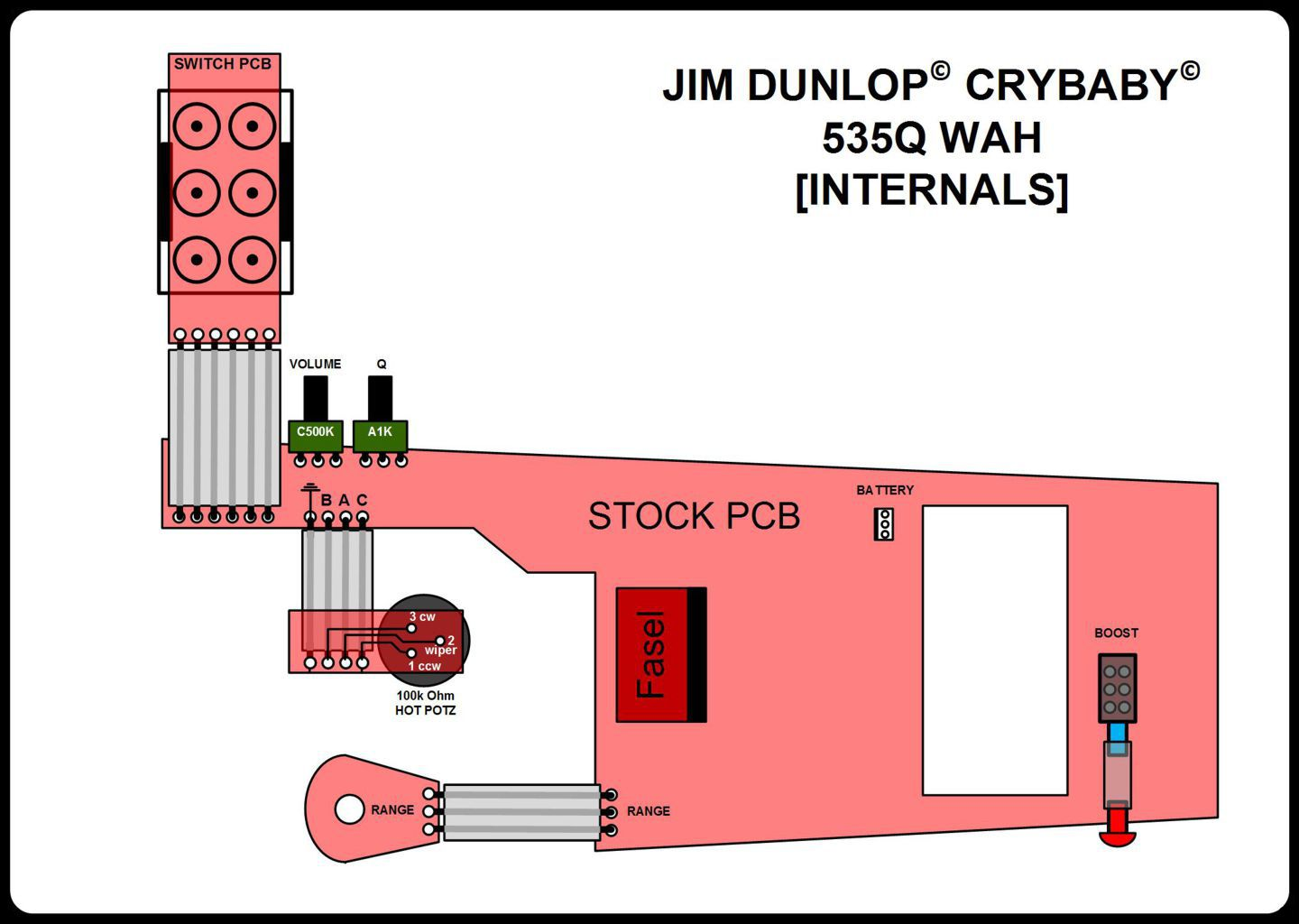 hight resolution of stock internal layout and circuit boards pre mod