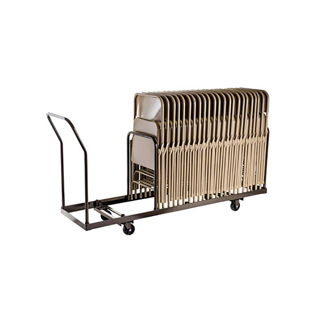 folding chair dolly floating chairs for pool national public seating dy 35 nps