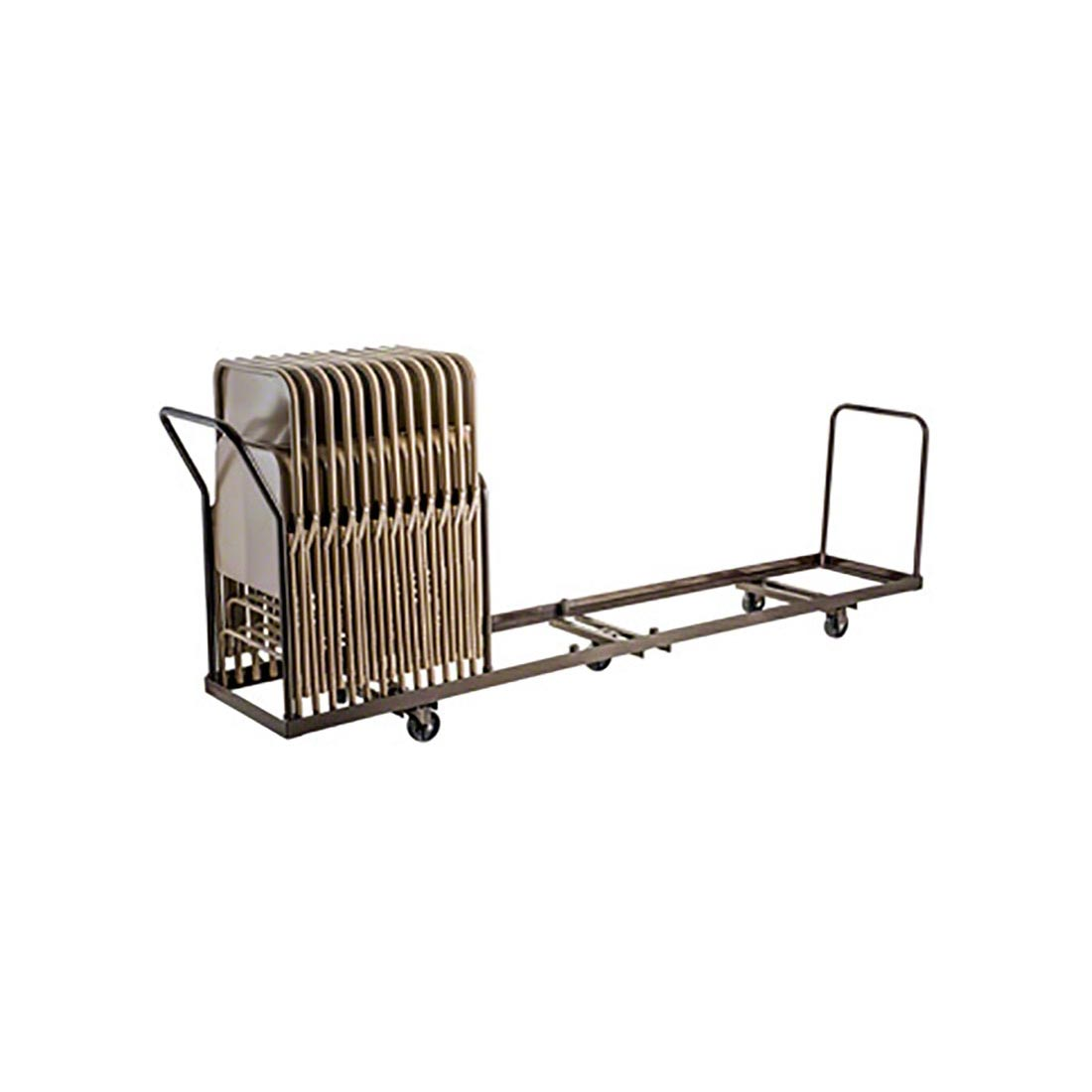 folding chair dolly wheelchair quilt size national public seating dy 50 nps