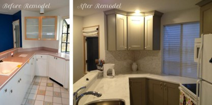 Before & After kitchen condo remodel The Homestead Leelanau County Glen Arbor copy