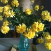 IMG_0753_yellow flowers_vintage fall home ideas