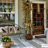 fall home decor front door