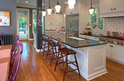 from contractor-grade to designer kitchen_home renovation_project manager_staged to sell