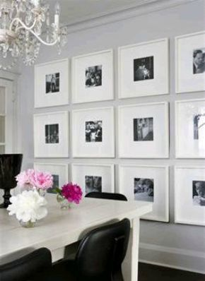 Hanging Artwork And Mirrors