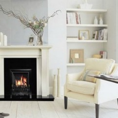 Living Room Fireplace Off Centered Small Country Decorating Ideas Home Interior Design Rules