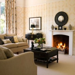 Living Room Fireplace Off Centered Furniture Sets Uk Staging The Interior Design Pictures