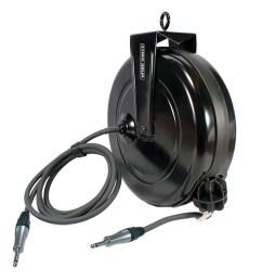 spk 40 qi stage ninja 40 foot retractable neutrik speakon speaker cable reel [ 1005 x 1005 Pixel ]