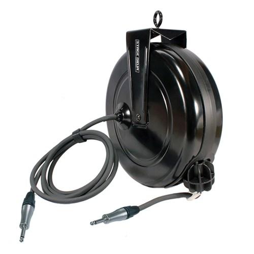small resolution of  spk 40 qi stage ninja 40 foot retractable neutrik speakon speaker cable reel