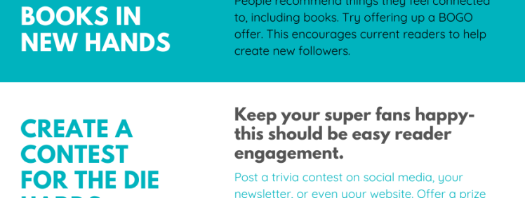 How to Sell Books by Strategically Engaging Readers (Infographic)