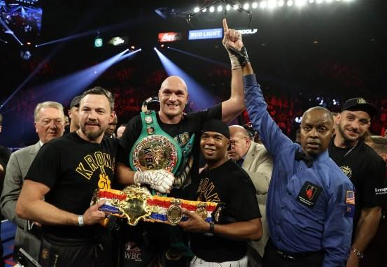Derek Chisora says Tyson Fury vs Anthony Joshua is not going to happen this year