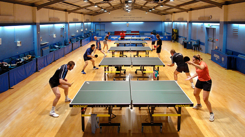 best table tennis clubs
